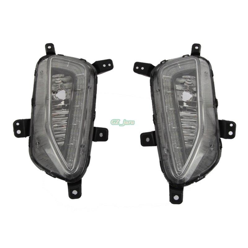 Automobilski dizajn prednja LED svjetiljka za maglu DRL dnevna - Svjetla automobila - Foto 2