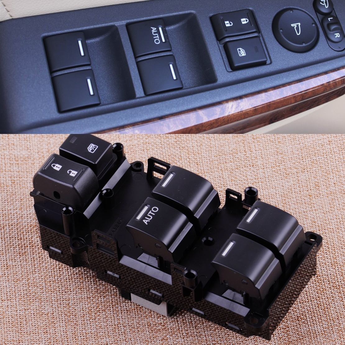 CITALL 35750-TBD-H13 Front Left Driver Side Master Power Window Switch Fit for Honda Accord 2008 2009 2010 2011 for hyundai elantra front left driver side master power window switch 2001 02 03 04 05 2006 93570 2d000
