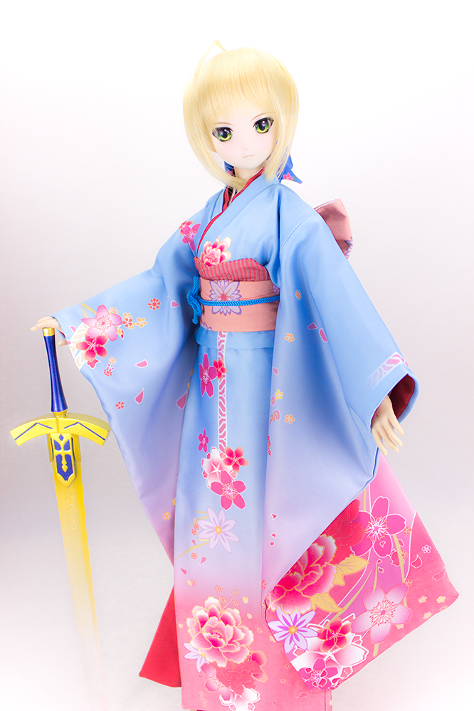 Aceitar personalizado Fate/Grande Ordem sabre Cosplay Lindo Terno Kimono COS BJD 1/3 1/4 SD DD DDL/S MSD Roupa Da Boneca - 4
