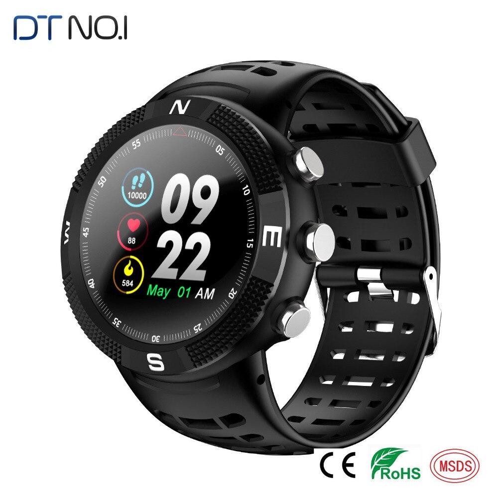 все цены на F18 3D Screen Smartwatch Sports Bluetooth 4.2 IP68 Waterproof Smart Watch GPS Call Message Reminder Pedometer Sleep Monitor 9.7 онлайн