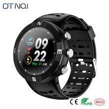 Купить с кэшбэком F18 3D Screen Smartwatch Sports Bluetooth 4.2 IP68 Waterproof Smart Watch GPS Call Message Reminder Pedometer Sleep Monitor 9.7