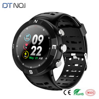 F18 3D Screen Smartwatch Sports Bluetooth 4.2 IP68 Waterproof Smart Watch GPS Call Message Reminder Pedometer Sleep Monitor 9.7