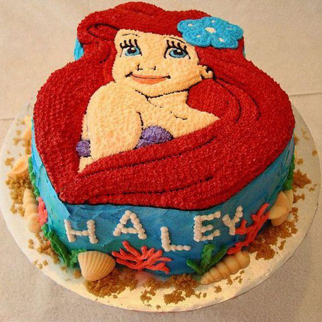 The Little Mermaid Ariel Cake Tin
