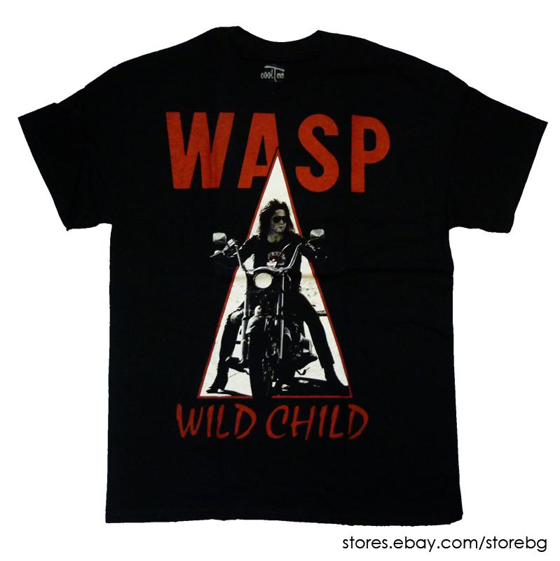 WASP Band Heavy Metal 2 T Shirt