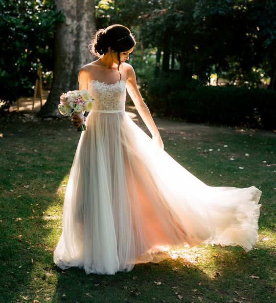 Bohemian Hippie Style Wedding Dresses Long Cheap Boho Chic Beach ...