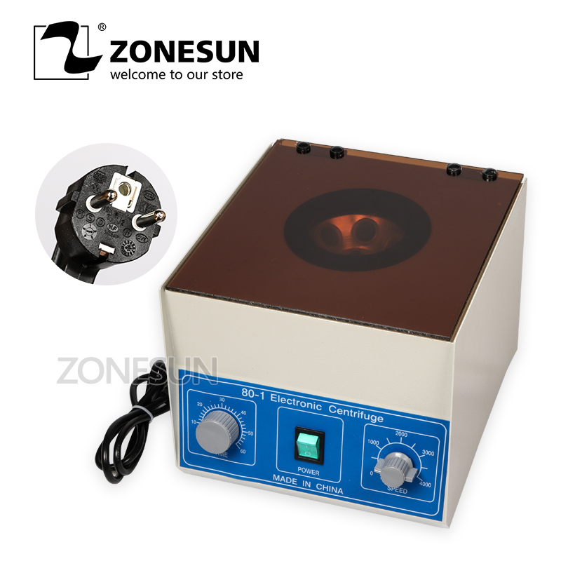 ZONESUN 80-1 Laboratory Centrifuge Lab Supplies Medical Practice 4000 rpm 20 ml x 6 1795xg CE Certificate centrifuga laboratorio 80 2electric lab centrifuge lab medical practice 4000 rpm 20 ml x 6 laboratory supplies