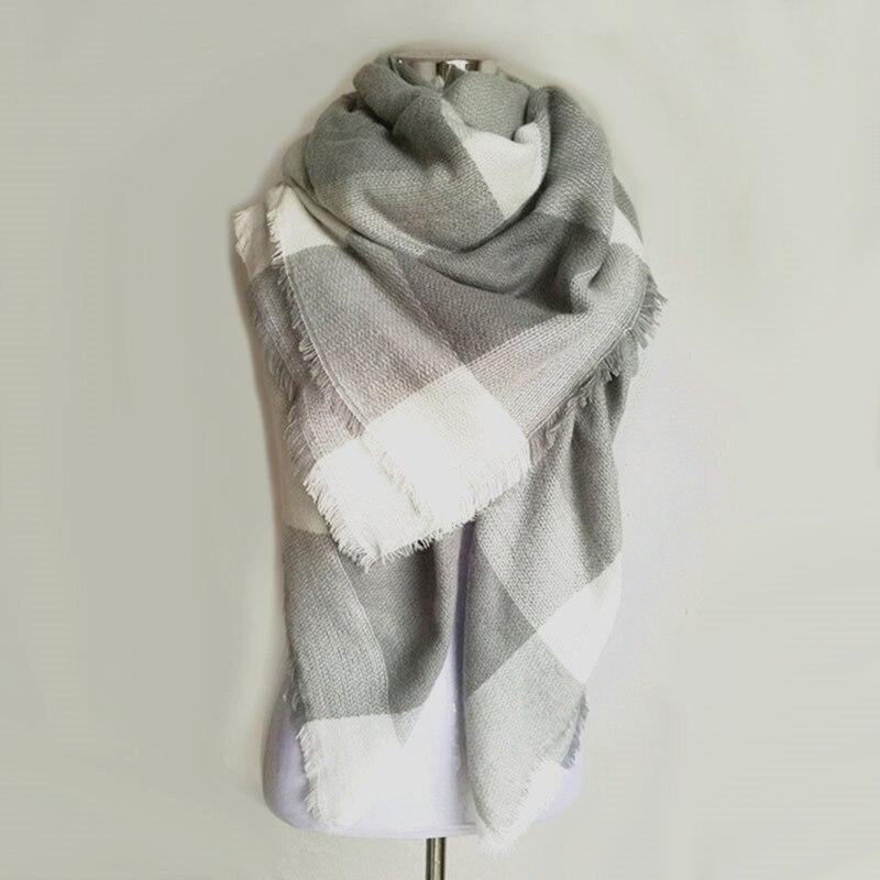 Scarves & Wraps: za Winter 2016 Tartan Scarf Desigual Plaid Scarf New Designer Unisex Acrylic Basic Shawls Women's Scarves hot sale za scarf
