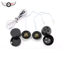 I Key Buy 2PCS 150W Car Fever Speaker Tweeter Treble Head Sound Conversion