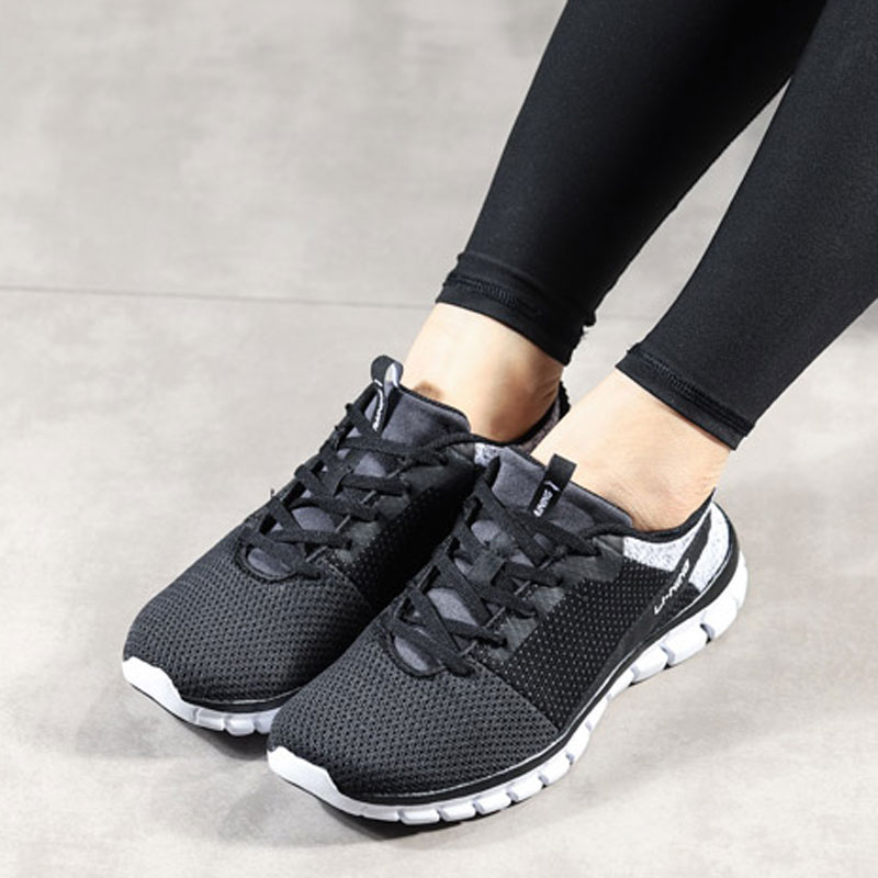 2247f0dc6 Li Ning Women 24H Smart Quick Training Shoes LiNing Breathable Sport Shoes  Light Weight Sneakers AFHN026 YXX018-in Fitness & Cross-training Shoes from  ...