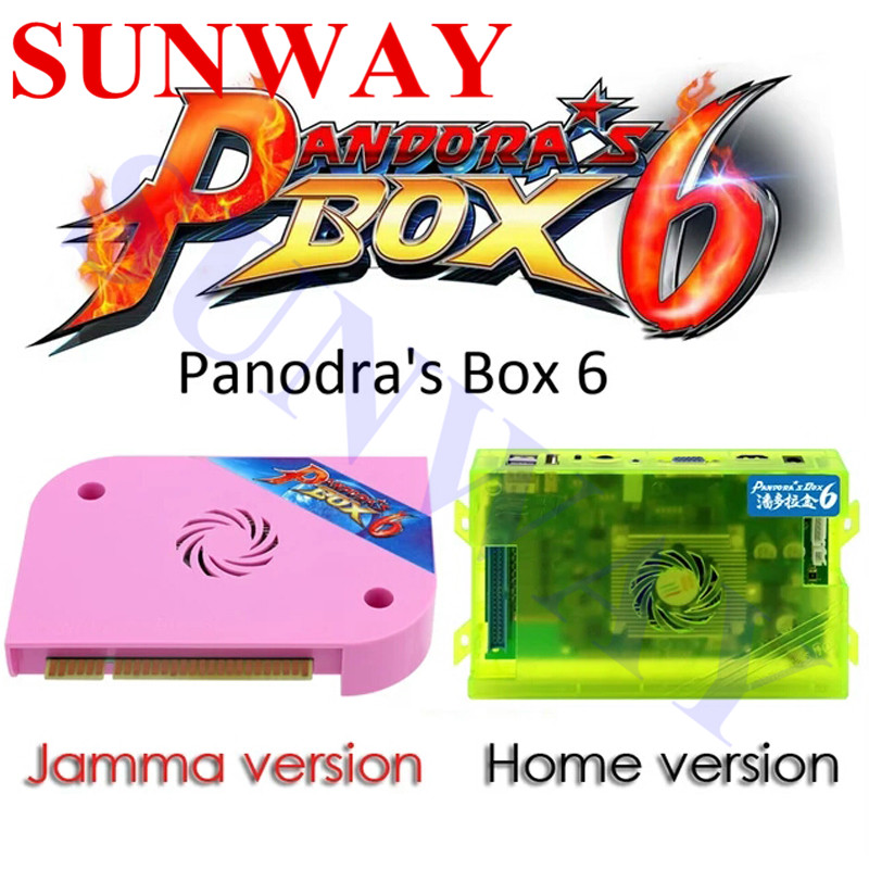 US $59 89 |Pandora Box 6 1300 in 1 jamma board Arcade pcb for arcade  machine can add extra 3000 games support FBA MAME PS1 game 3d tekken-in