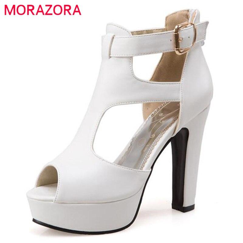 Scarpe Da Sposa 34.Morazora Grande Formato 34 48 Donne Sandali Scarpe Da Sposa Scarpe