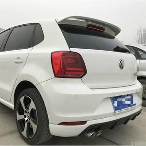 150de4dda3426e For VW Polo Spoiler ABS Material Car Rear Wing Primer Color Rear Spoiler For  Volkswagen