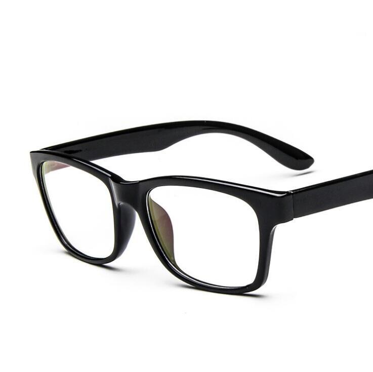 48fe68494ae Nerd de Computador Legal Homens Vidros do Olho Quadros Masculinos óculos  Optical Frame Limpar Lens Oculos