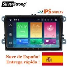 SilverStrong IPS Android9.0-8.0 per il VW 2Din Auto Radio per Passat B6 B7 per Golf5-6 per Skoda Octavia2 per eccellente per fabia 901