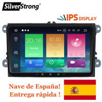 SilverStrong IPS Android9.0 8.0 for VW 2Din Car Radio for Passat B6 B7 for Golf5 6 for Skoda Octavia2 for superb for fabia 901
