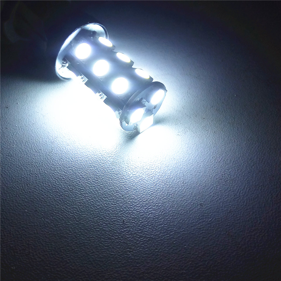 12V LED (18 * 5050SMD) Lâmpada bulbo do carro W21 / 5W T20 W3X16q / - Faróis do carro - Foto 2