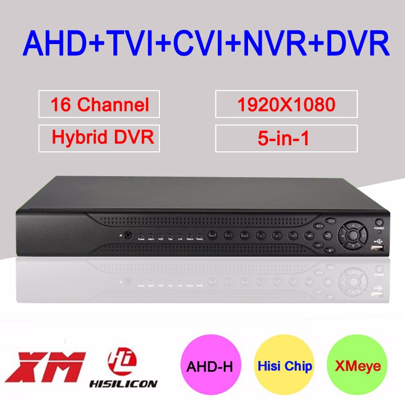 five in one 16ch 1080p full ahd hd dvr