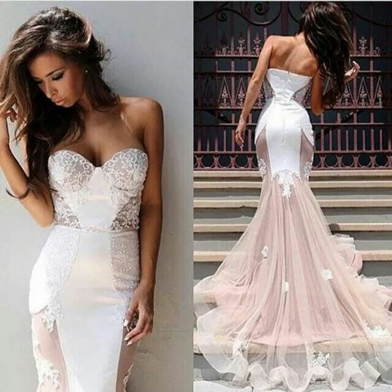 Image Result For Beautiful Mermaid Wedding Dress Ideas Detachable Skirt