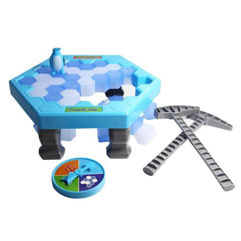 MINI Ice Breaking Salvați Penguin Family Fun Game Penguin Trap - Produse noi și jucării umoristice