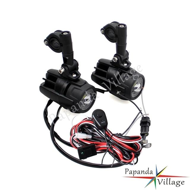 papanda motorcycle emark led front auxiliary lamp spotlight fog rh aliexpress com