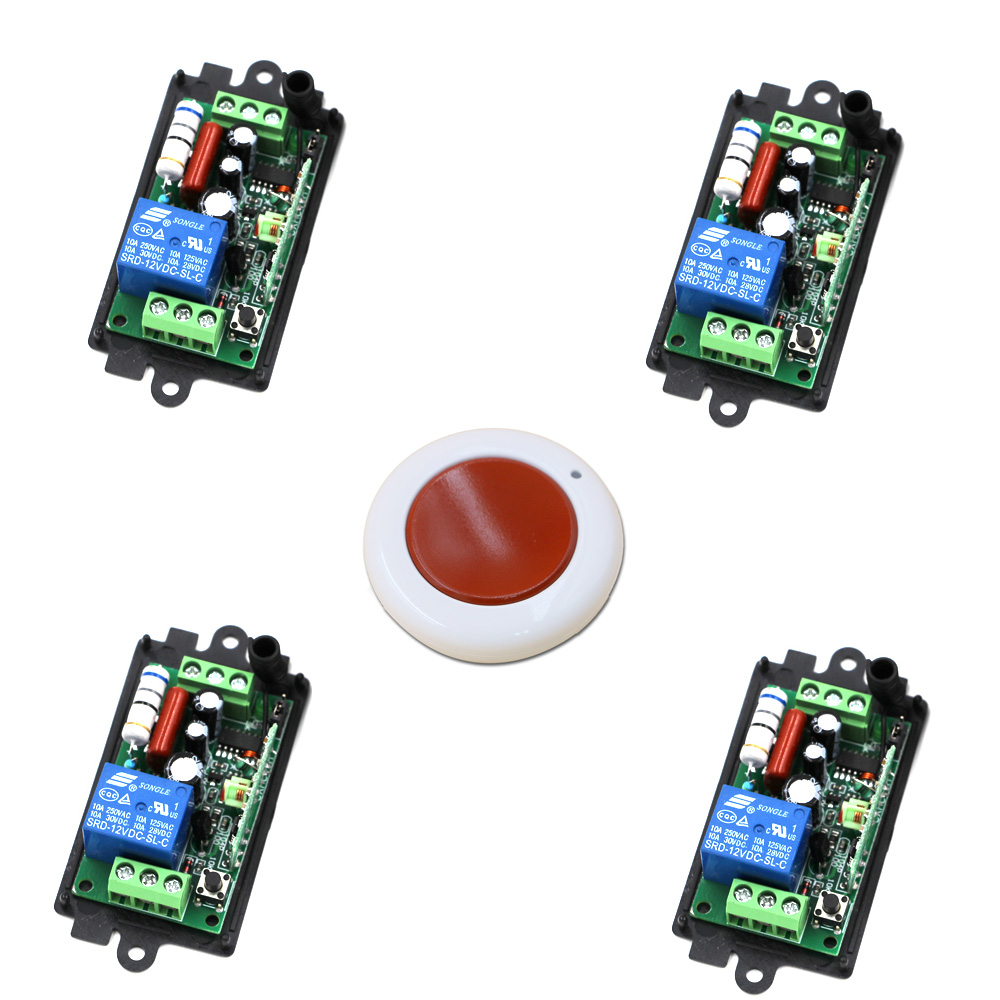 AC 110V 220V 1 Channel Relay Smart Wireless Remote Control Light Switch Remote Controller Plug 315/433Mhz Wireless Switch dc24v remote control switch system1receiver
