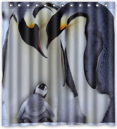 Compare Prices On Shower Curtain Penguins Online Shopping Buy Low