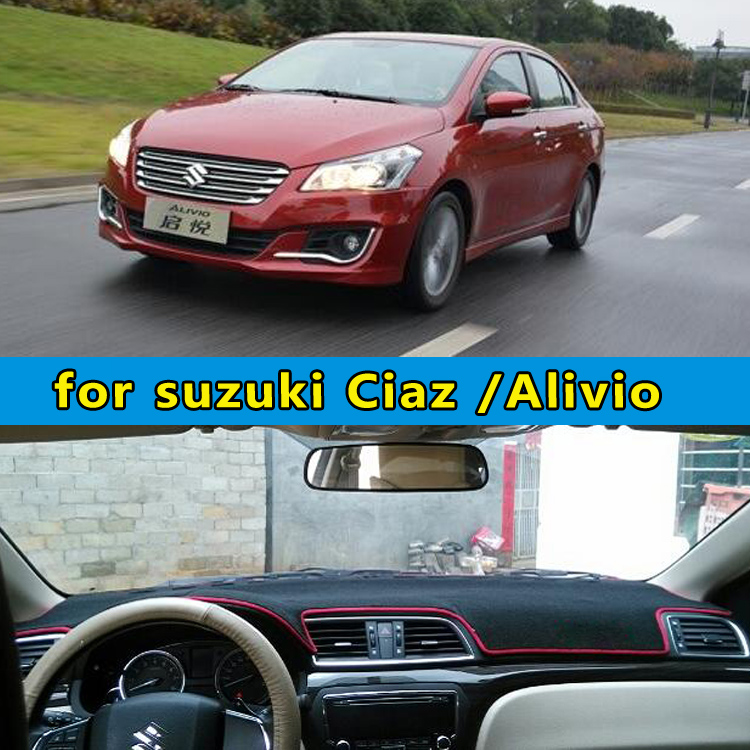 car dashmats car styling accessories dashboard cover for Suzuki Ciaz Alivio 2014 2015 2016