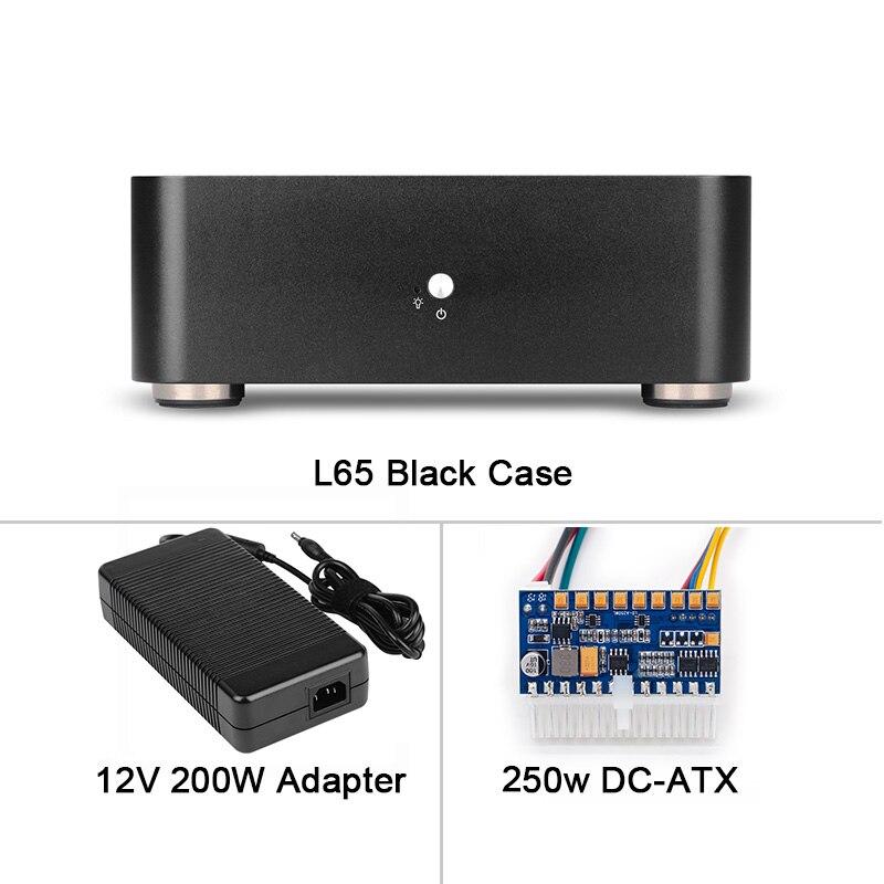 Power Supply Set PSU RGeek Computer Case Aluminum PC Case HTPC for Mini ITX