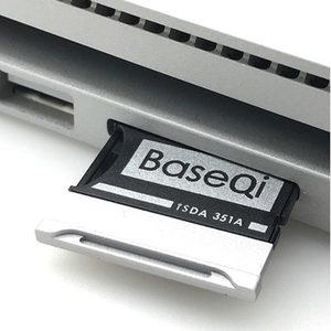 """Image 2 - BaseQi Aluminium Voor Microsoft Oppervlak Boek 2 15 """"MiniDrive memory stick pro duo adapter Voor macbook air pcmcia kaart mount ssd"""