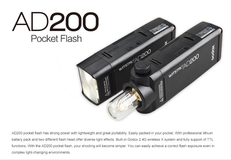 Godox Outdoor Flash Pocket Flash AD200 (2)