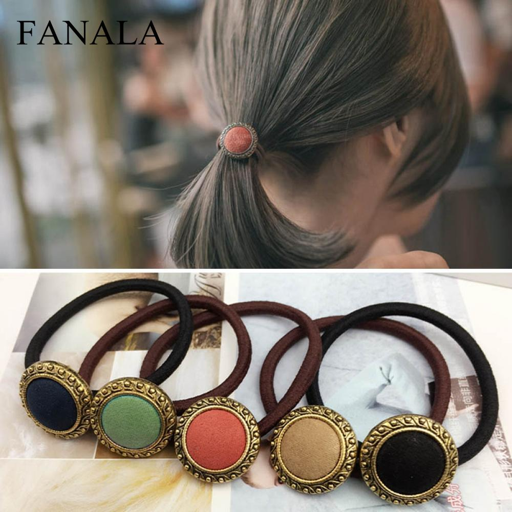 Men's Accessories Shape Girls Hairband Heart Star Ball Women Elastic Hair Tie Rope Ponytail Holder Vivid And Great In Style