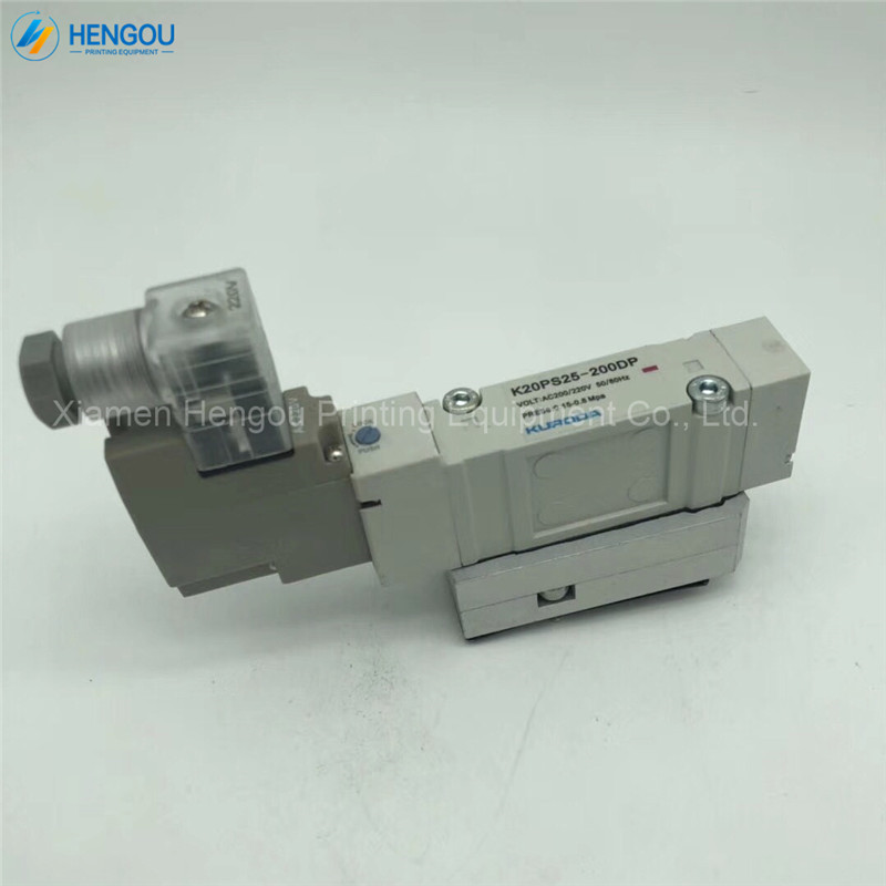 1 Piece New Komori Solenoid Valve K20PS25-200DP Komori Offset Printing Machine Parts 3Z0-8101-100 стоимость