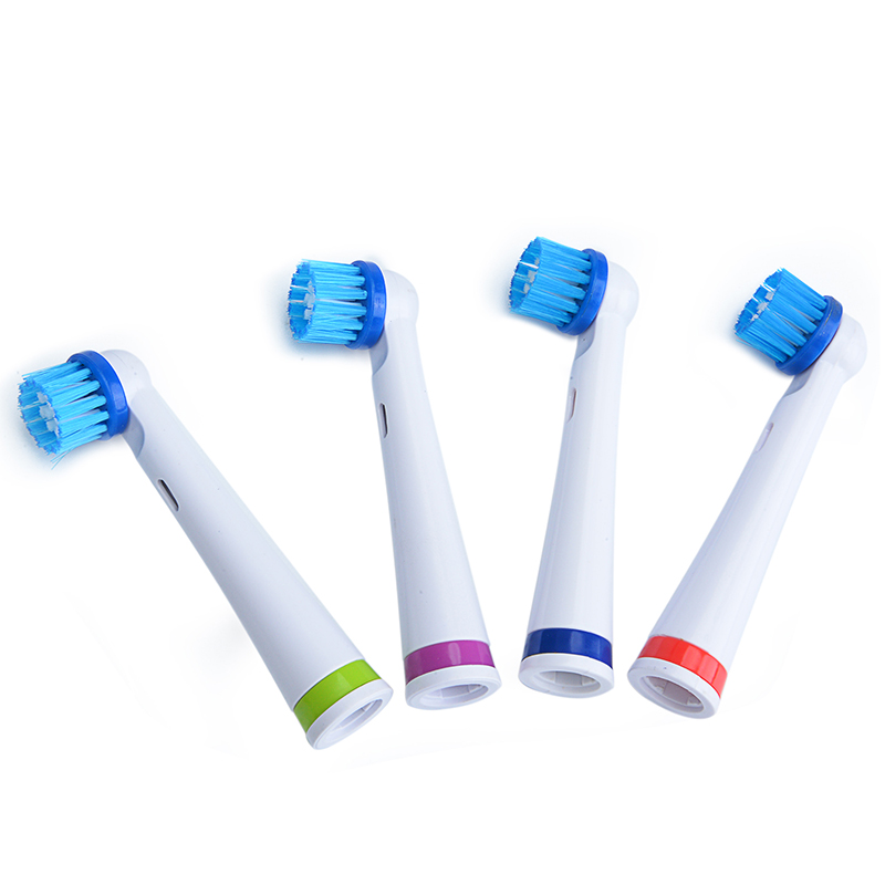 Hot 4pcs/Pack Electric Rotary Toothbrush Heads For AZDENT Electric AZ-OC2 Toothbrush Replaceable Teeth Brush Head Deep Cleaning
