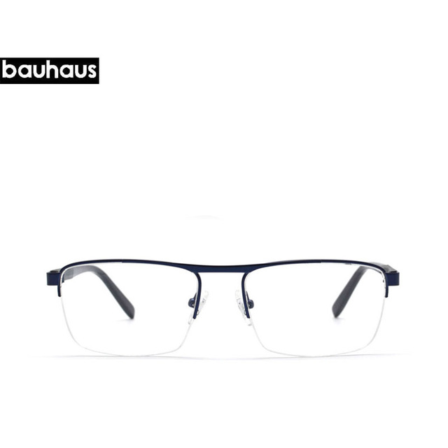 3542a0249e bauhaus ITALY NEW Design 2017 men optical glasses Style vintage eyeglasses  clear gentleman glasses Prescription Spectacles