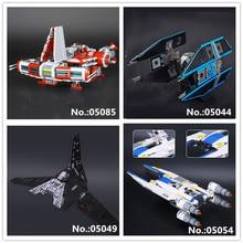 LEPIN 05044 TIE Interceptor 05049 Fighting Shuttle 05054 Rebel U-Wing Fighter 05085 Je star di Defender Cruiser Building Block