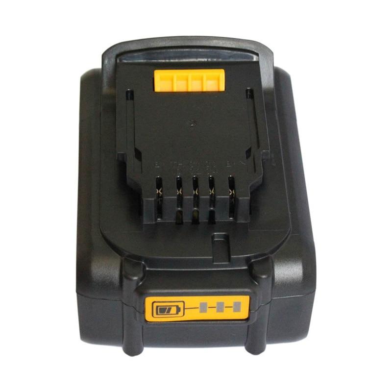 For DeWalt 20V 5.0Ah 5000mAh Power Tools Battery replacement for Drill DCB200 DCB181 DCB182 DCB204 Rechargeable Li-ion Battery 5pcs 5000mah power tool rechargeable li ion battery replacement for dewalt 18v dcb200 dcb201 dcb203 dcb204 dcb180 dcb181 dcb182
