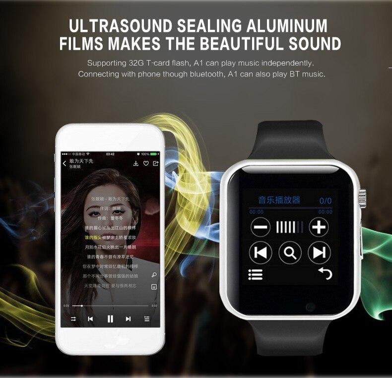 A1 WristWatch Bluetooth Smart Watch 0040