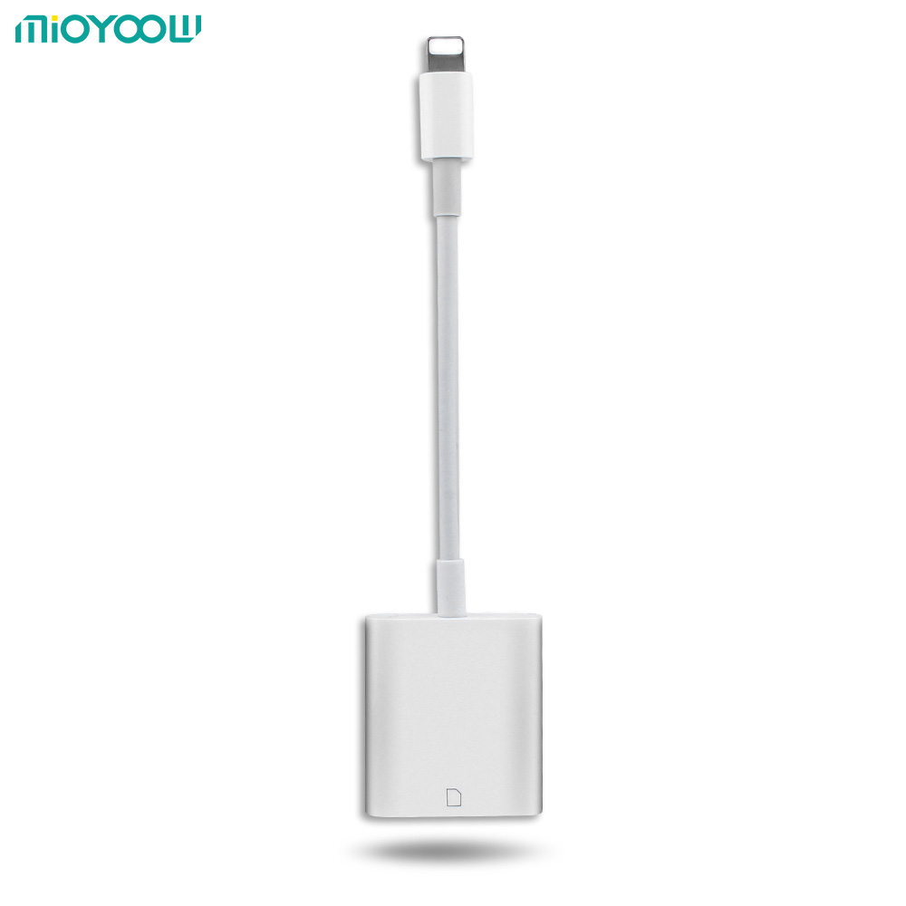 Cámara Compatible con Lector de Tarjetas del Kit OTG Cable de Datos Digital no Necesita APLICACIÓN Para Apple iOS9.2-10.3