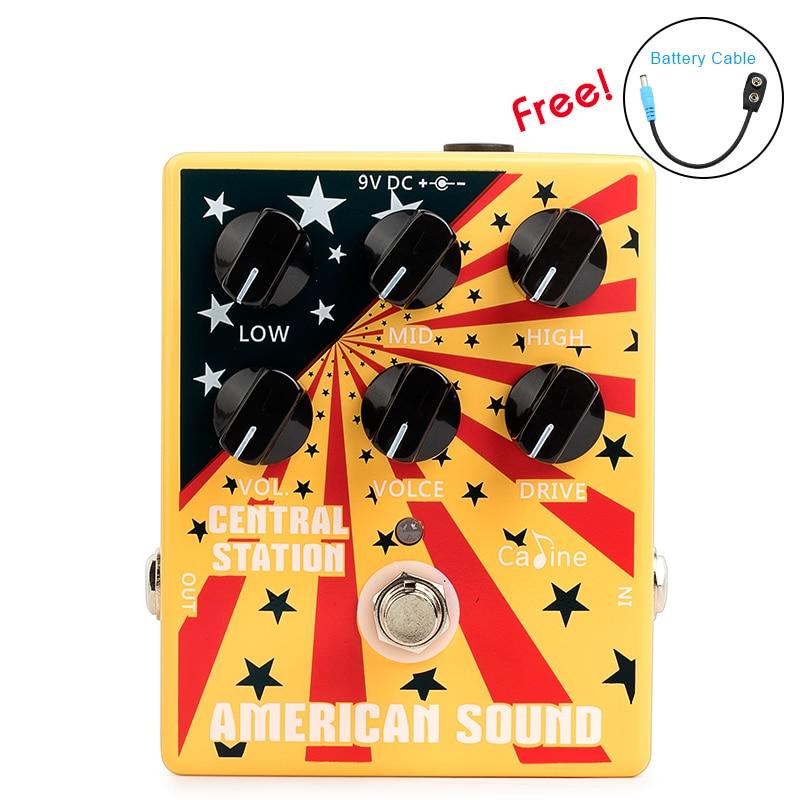 Caline CP 55 Guitar Pedal American sound Guitar Effect Pedal