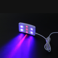 laser and LED light watch red laser add blue LED wear on the wrist Blood pressure device have Clip in the nose best gift