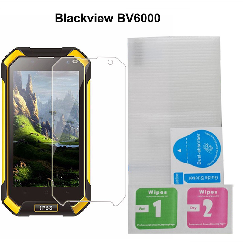 Blackview BV6000強化ガラス4.7インチ100%オリジナルPremium Screen Protector Film for Blackview BV6000S BV 6000携帯電話