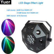 LED Dancing Floor Light 120W RGBW 4in1 led Moving Head dmx Stage Lighting Moving Head DMX512 for dj party disco light led par