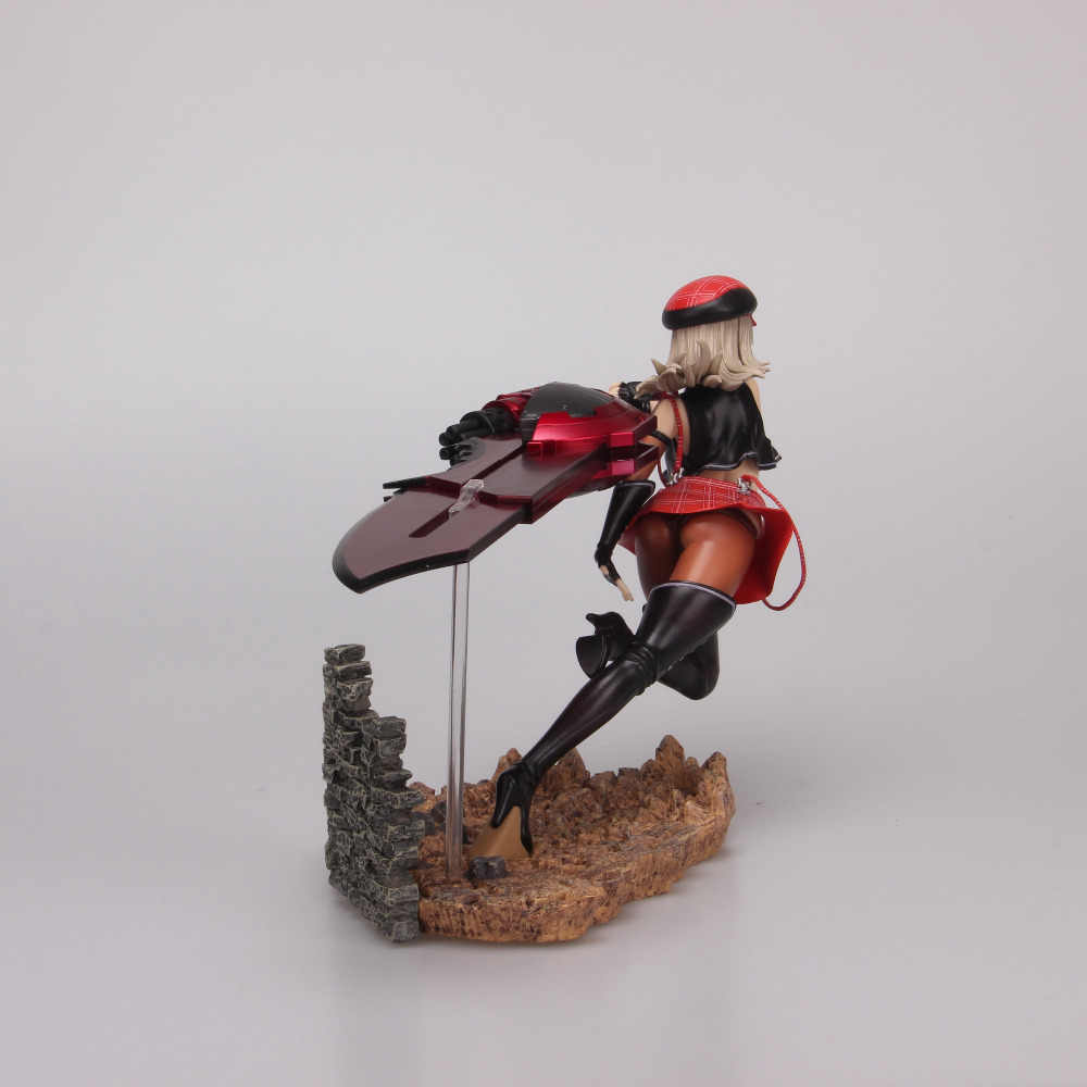 Novo quente! 20cm deus comedor 2 alisa grande espada pvc figura de ação brinquedos presente natal boneca com caixa