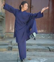 Võ Đang Phái Đạo Giáo Kungfu Đồng Nhất Thái Cực Áo Dây Thiếu Lâm Hòa Thượng Áo Kungfu Lanh Bộ Wushu Võ Thuật Phù Hợp Với Quần Áo