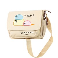 MeanCat Japanese ACG Anime Messenger Clannad Character Cartoon Single Shoulder Bags for School Shopping Clannad Collection
