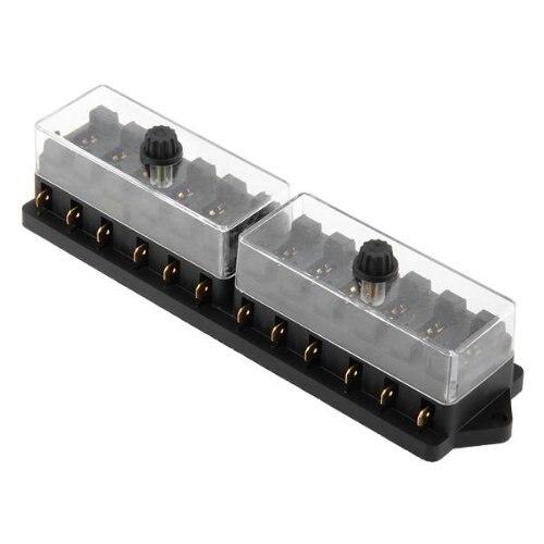 hot sale12 channels fuses box fuse holder for car fuse. Black Bedroom Furniture Sets. Home Design Ideas