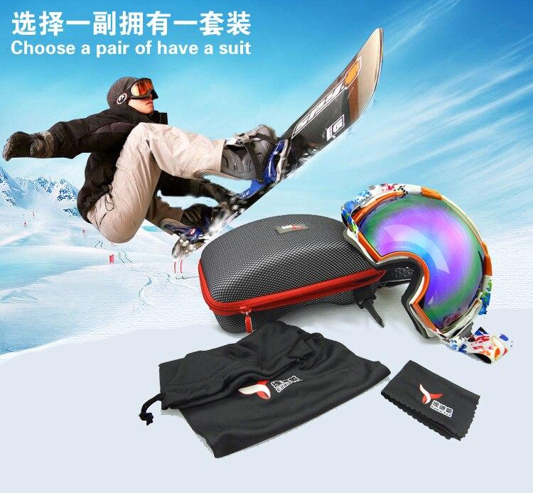 Prix pour Skate Snowboard Motoneige Transparent led Hiver Enfant Lunettes Lunettes Ski Lunettes Pour Hommes Femmes Enfants Ski lunettes de Soleil
