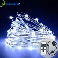 OSIDEN 10m String Lights Copper Wire Starry String Light, Soothing Decor, Elegant Rope Light Suitable Christmas Weddings Parties
