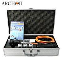 Карманный фонарик для дайвинга ARCHON DH30 WH36 обновленная версия DH30 II Подводные Водонепроницаемый факел угги акваланг для подводного плавания п