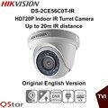 Hikvision Оригинальная Английская Версия DS-2CE56C0T-IR HD720P Крытый ИК Башни Камеры IP66 всепогодный 20 м ИК-Камеры ВИДЕОНАБЛЮДЕНИЯ